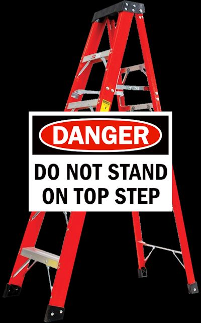 Ladder Safety Tip